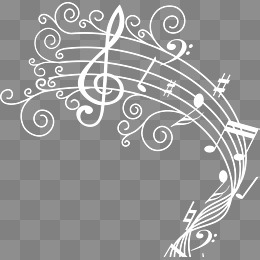 White Music Notes Png (97+ images in Collection) Page 2.