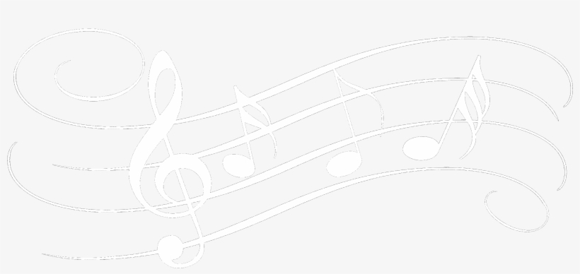 White Music Notes Transparent Background Download.