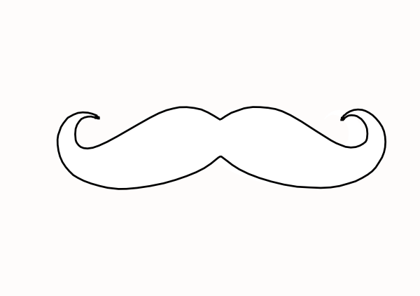 Free Mustache Outline, Download Free Clip Art, Free Clip Art on.