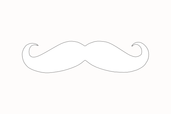 Free White Mustache Png, Download Free Clip Art, Free Clip Art on.