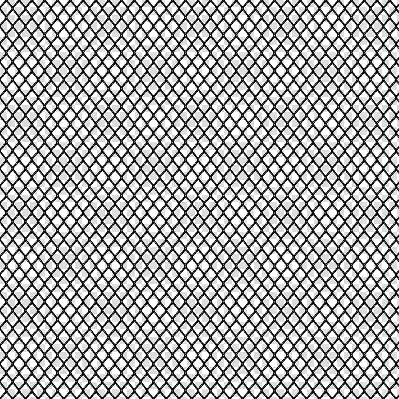 Netting Textures, black wire transparent background PNG.