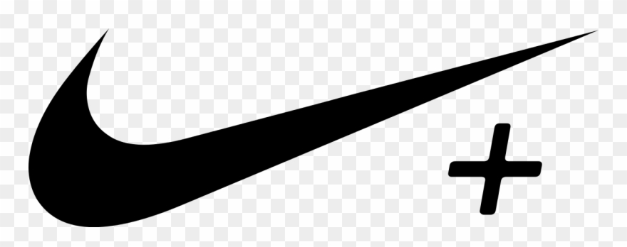 White Nike Swoosh Png Clipart Download.