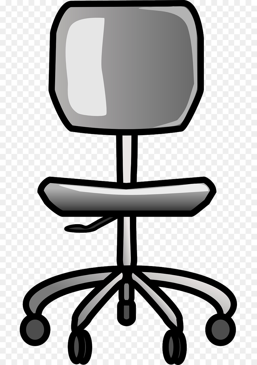 rolling chair clipart Office & Desk Chairs Clip art clipart.