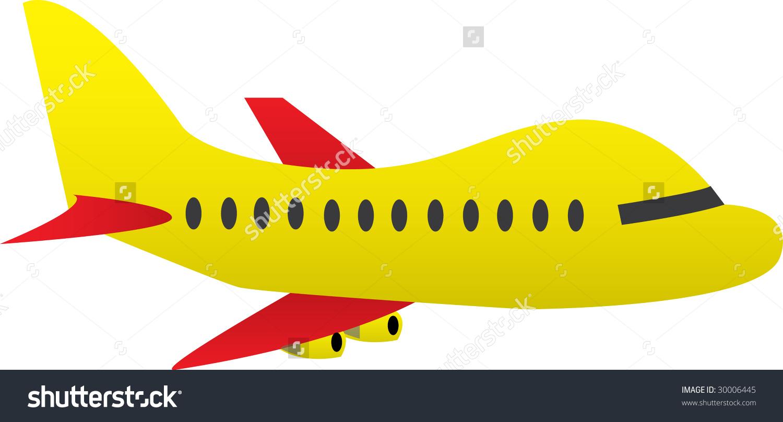 Cartoon Airplane Vector Stock Vector 30006445.