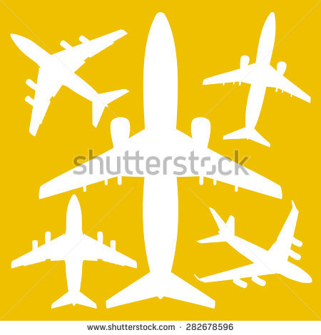 Yellow Airline Stock Photos, Royalty.
