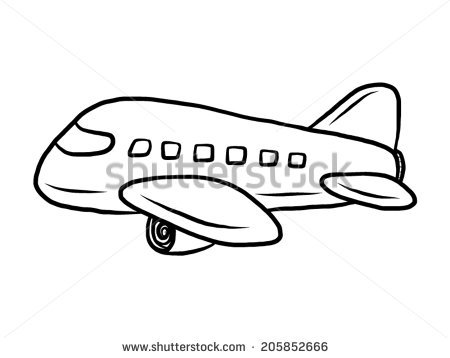 Cartoon Plane Stock Photos, Royalty.
