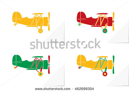 Airplane Red Tail Stock Photos, Royalty.