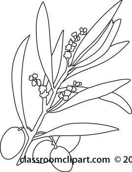 Olives Clipart Black And White.