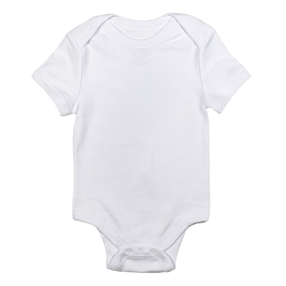 Baby Onesie White Trans.