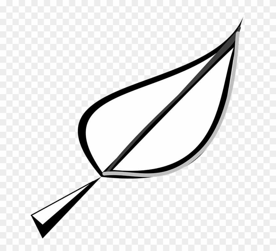 Leaf Outline Clip Art.