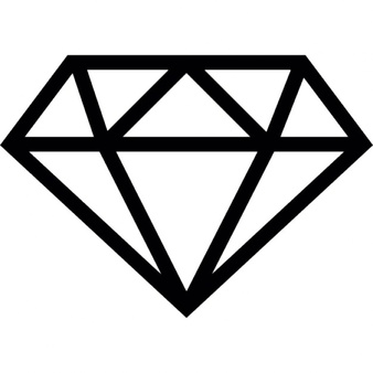 Diamond Outline Vectors, Photos and PSD files.
