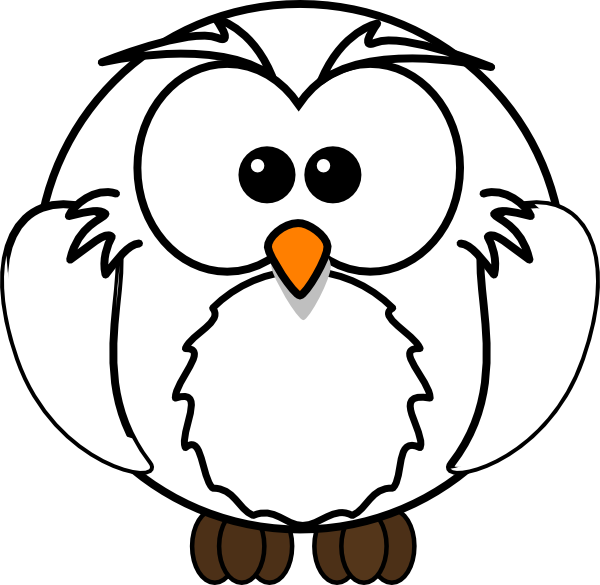 White Owl Clip Art at Clker.com.