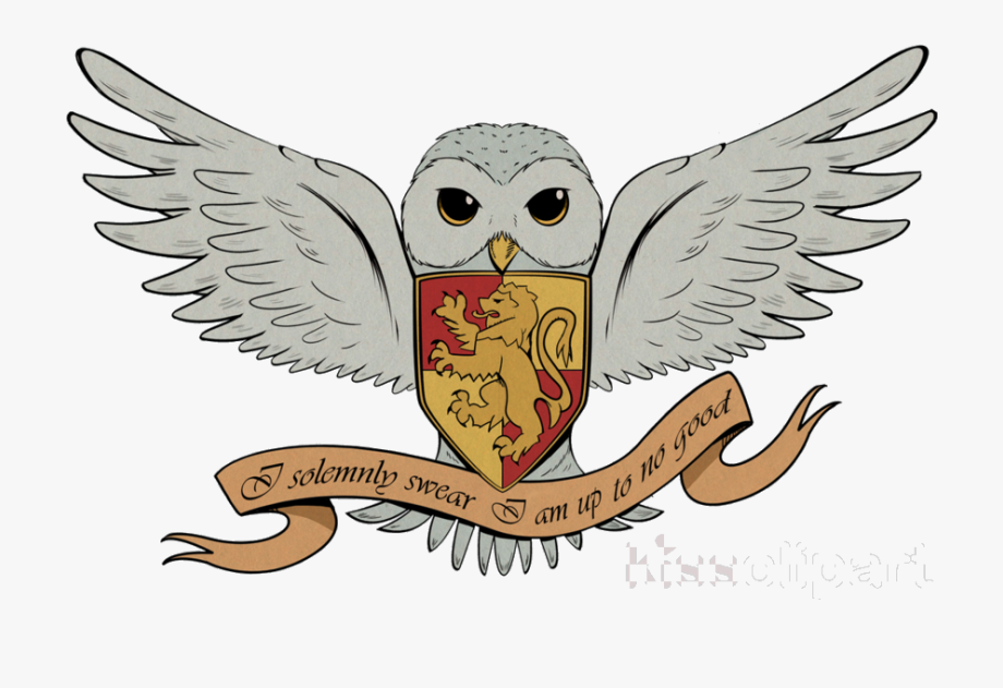 Harry Potter Cartoon Owl Clipart And The Deathly Hallows.