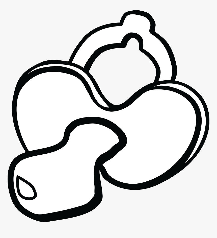 Free Clipart Of A Baby Pacifier.