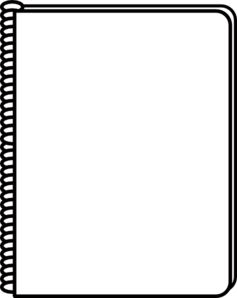 Free Notepad Clipart Black And White, Download Free Clip Art.
