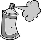 Spray Paint Can Clipart in 2019.