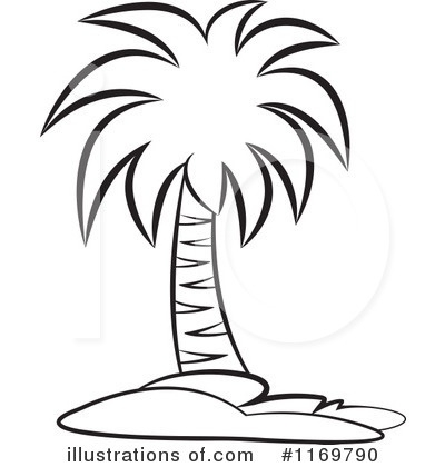 Palm Tree Clip Art Black And White Palm Tree Clipart Black And for.