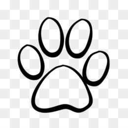 Panther Paw PNG.