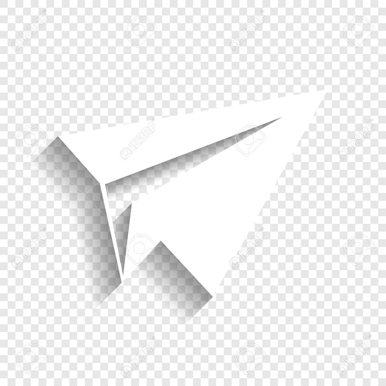 Paper Airplane Clipart No Background.
