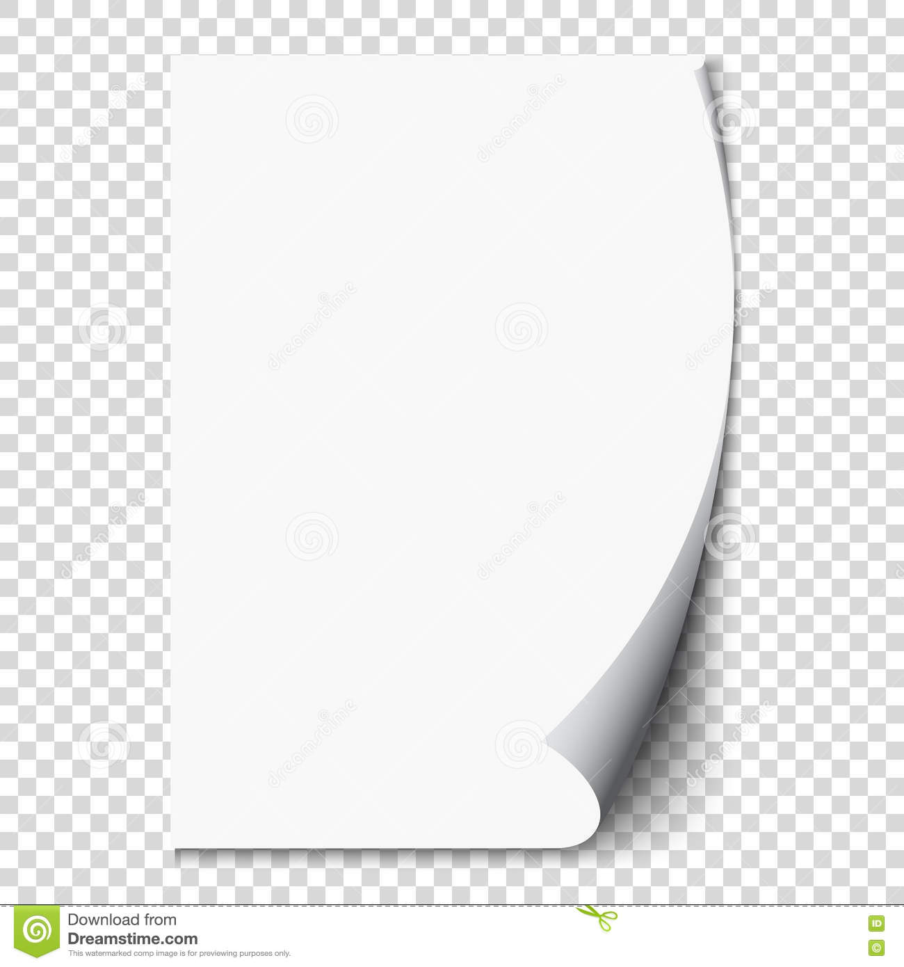 Paper Clipart Transparent Background.