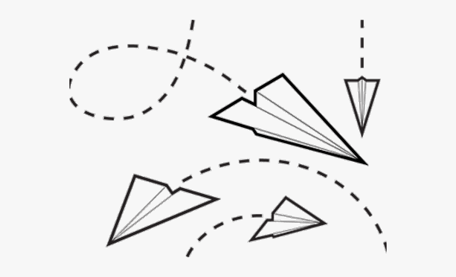 Paper Airplane Flying Clipart , Transparent Cartoon, Free.