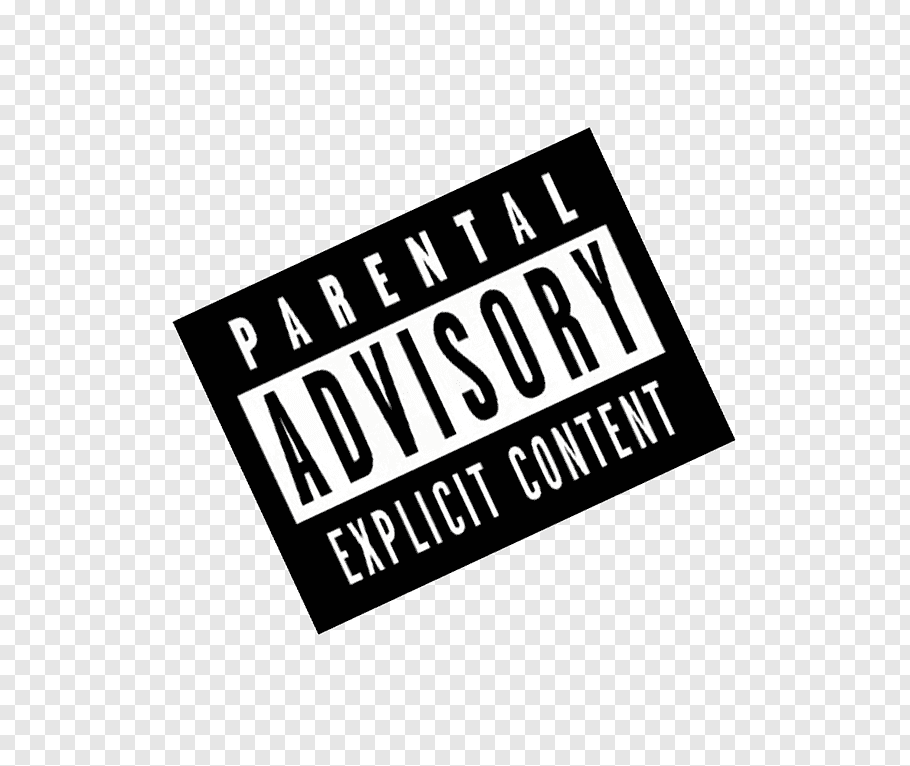 Parental Advisory Explicit Content logo, Parental Advisory.