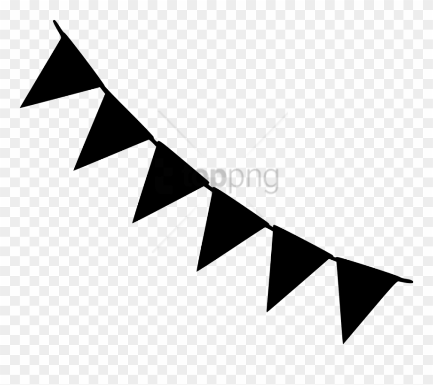 Free Png Black And White Party Banner Png Image With.