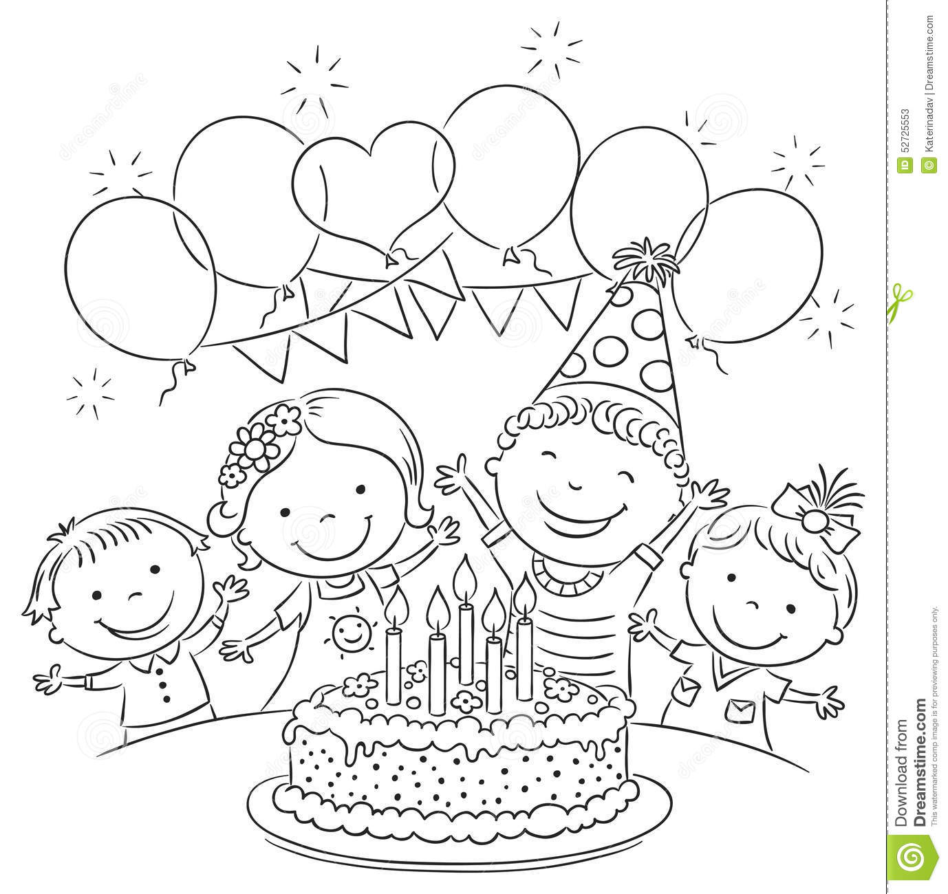 22829 Party free clipart.