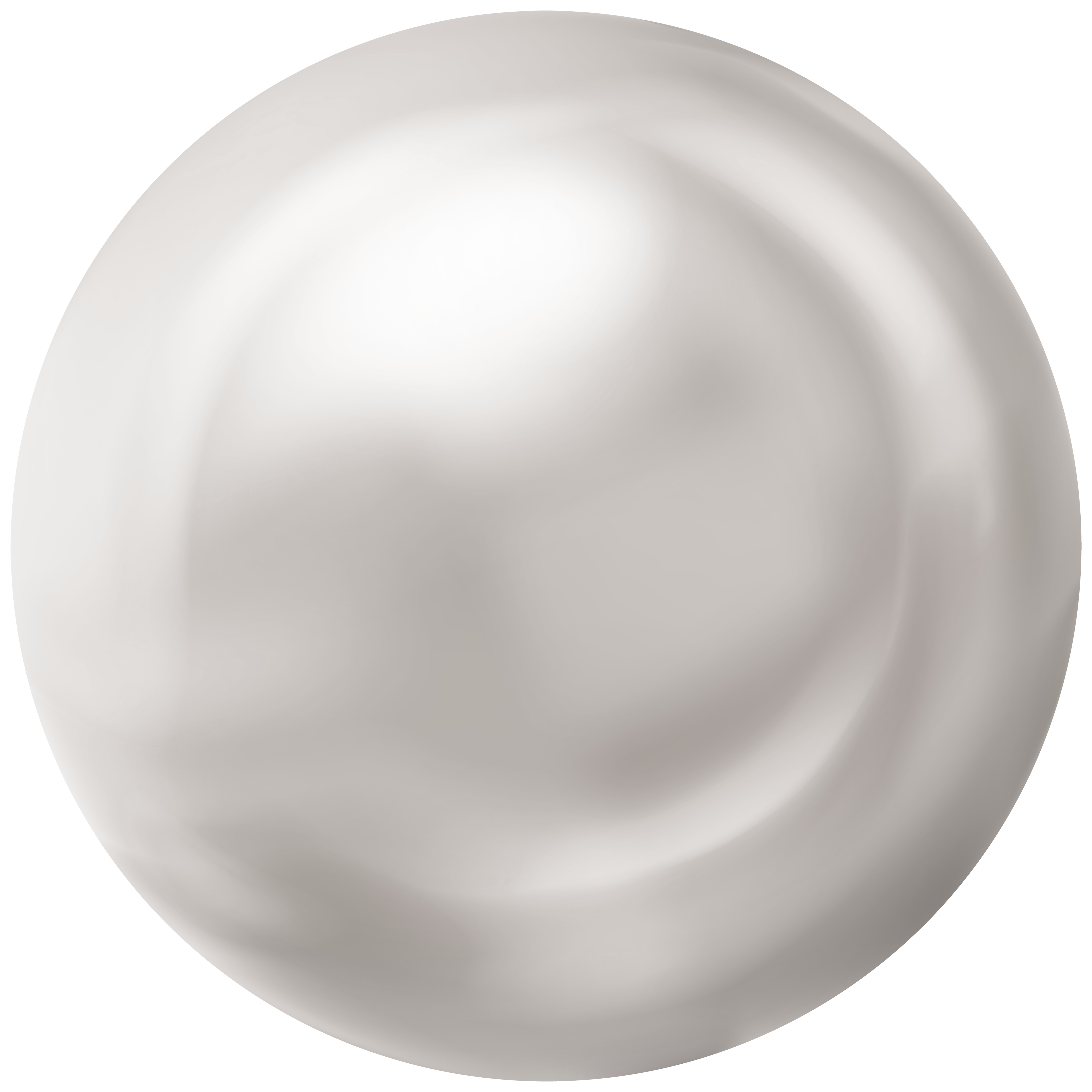 White Pearl PNG Clipart.