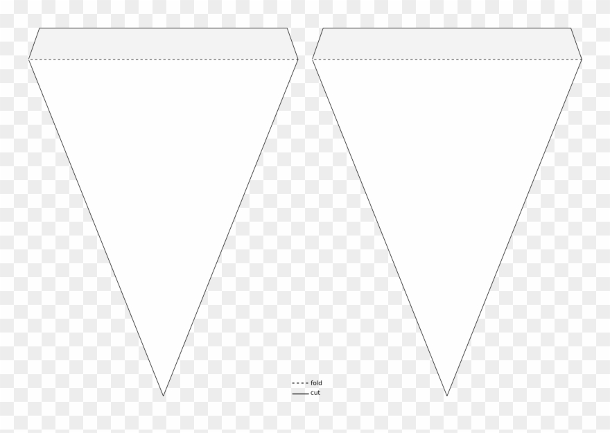 Triangle Pennant Banner Template Icons Png Free Png Clipart.