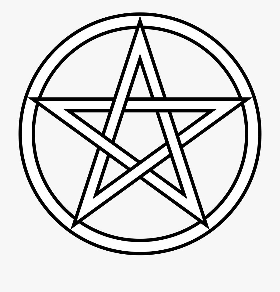 White Pentagram Png #1033900.