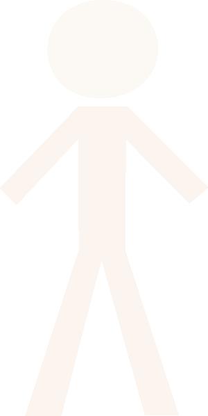 White Person Clipart.