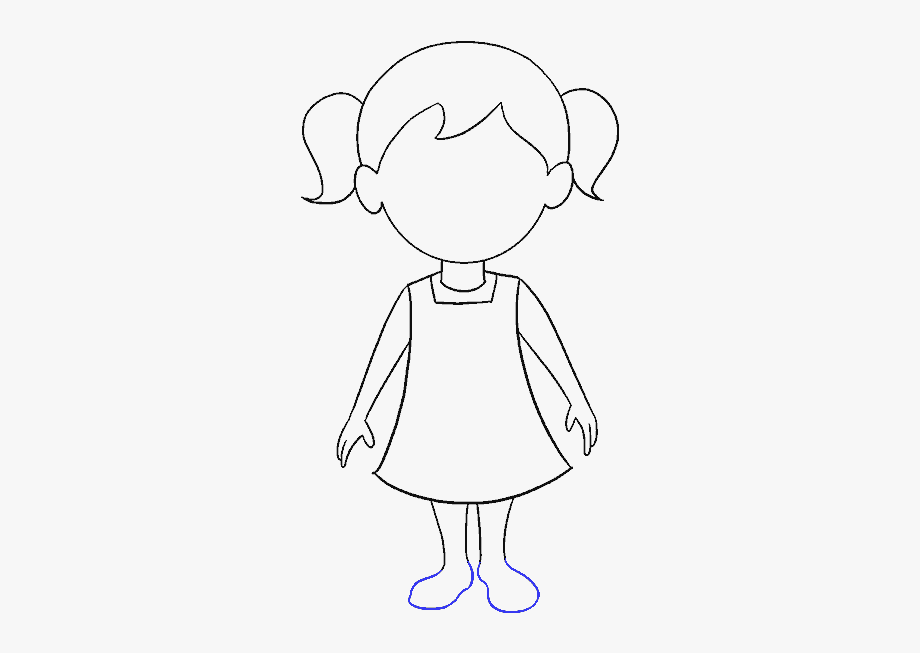 How To Draw A Cartoon Person.