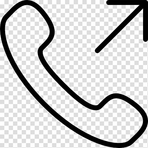 Telephone call Computer Icons , White Phone Icon transparent.