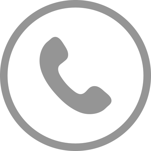 Call, circle, communication, mobile, phone, telephone icon.