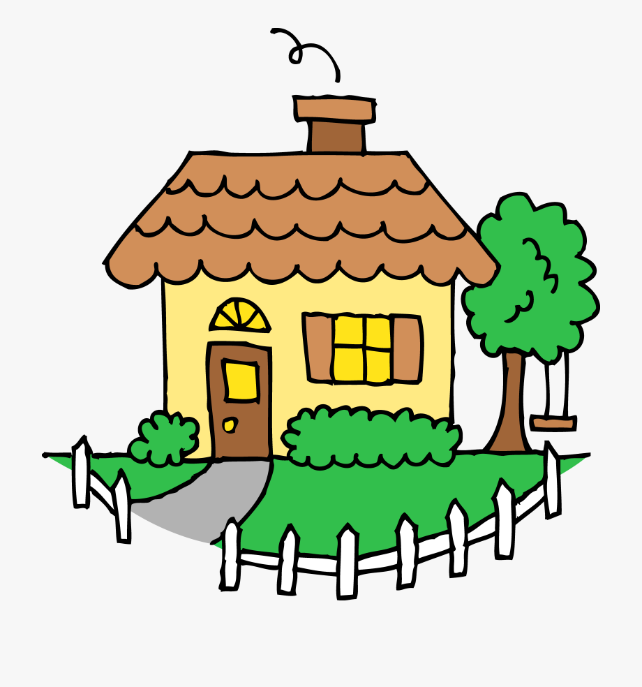 Clipart Of House, Outside And Homes.