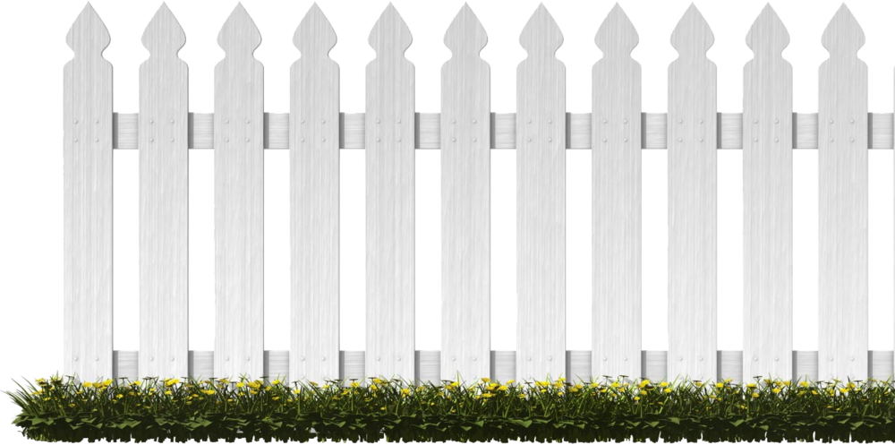 White Picket Fence (PNG).