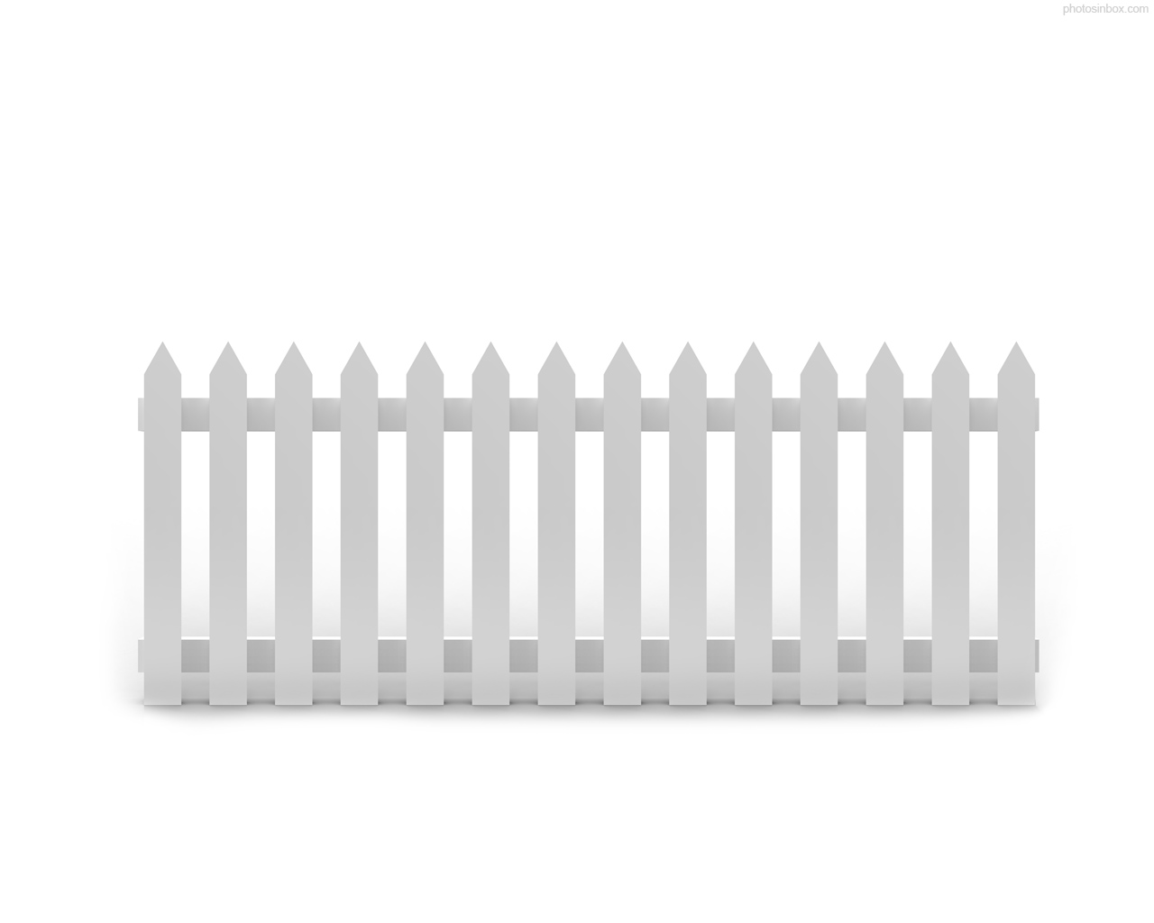 White Picket Fence Drawing at PaintingValley.com.
