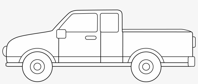 Profile Clipart Pickup Truck.