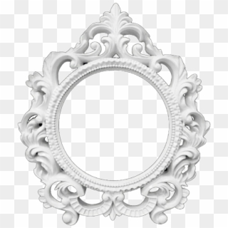 White Frame PNG Transparent For Free Download.