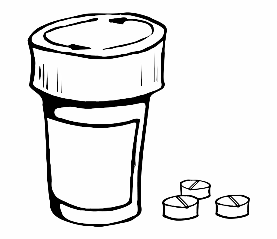 Pills And Bottle Clip Art Download.