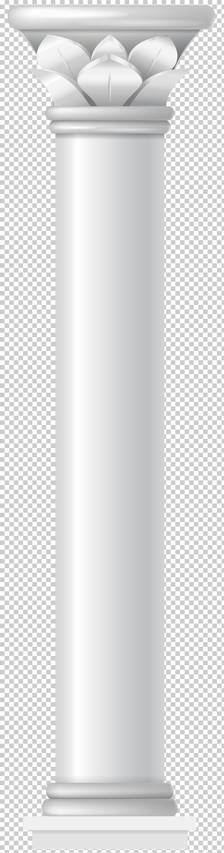 Column , Columns , two white posts PNG clipart.