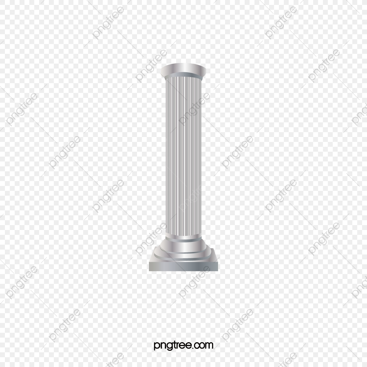 White Pillars, White, Pillar, Decoration PNG Transparent Clipart.