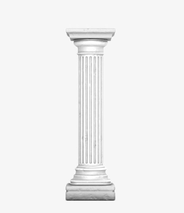 Pillar PNG, Clipart, Art, Continental, Pillar Clipart, Stone, White.