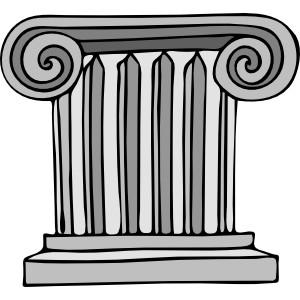 Pillar clip art.
