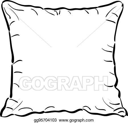 Throw Pillow Clipart.