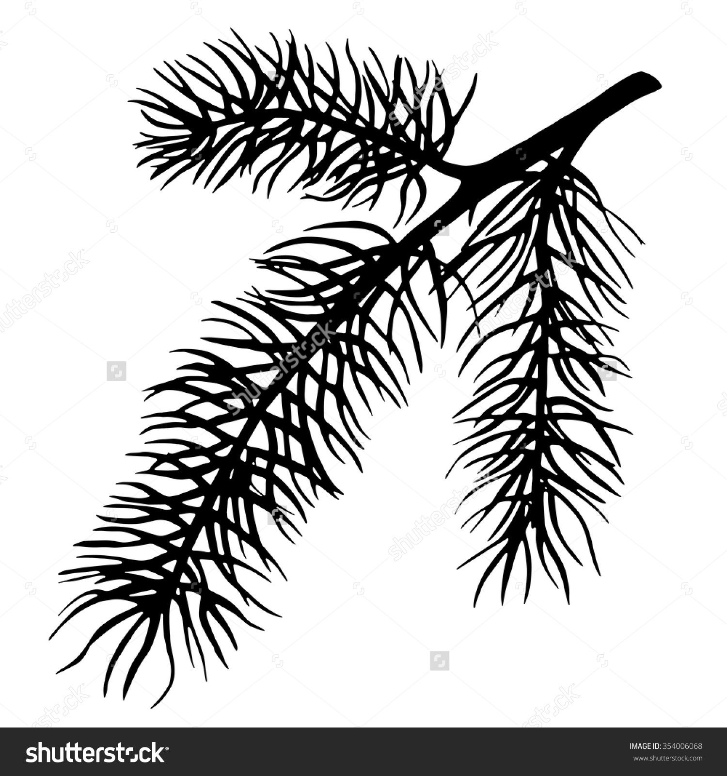 Image result for abstract tree silhouette.