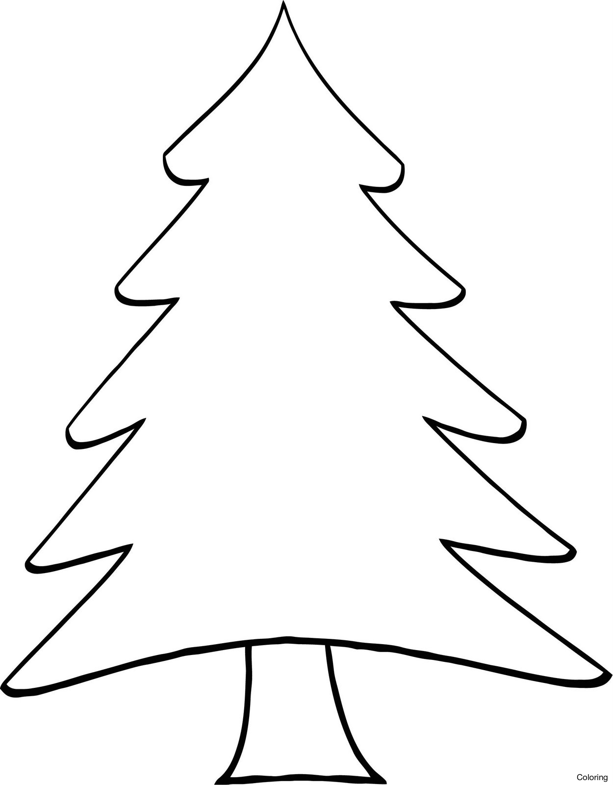 Pine Tree Clipart Black And White.