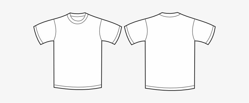 Shirt Clipart Front Back.