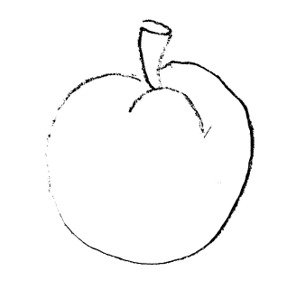 Plum Clipart Black And White.